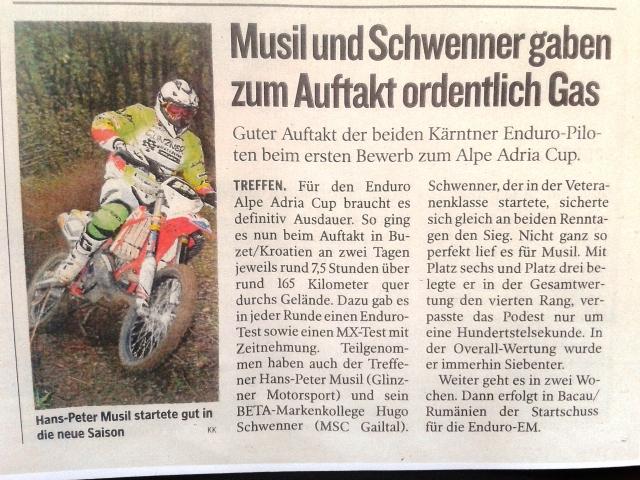 Vorm Start, mit Katai Peter (Hungary) der schon zweimal bei der Dakarrally teilgenommen hat  und einmal als Finisher Platz 20!