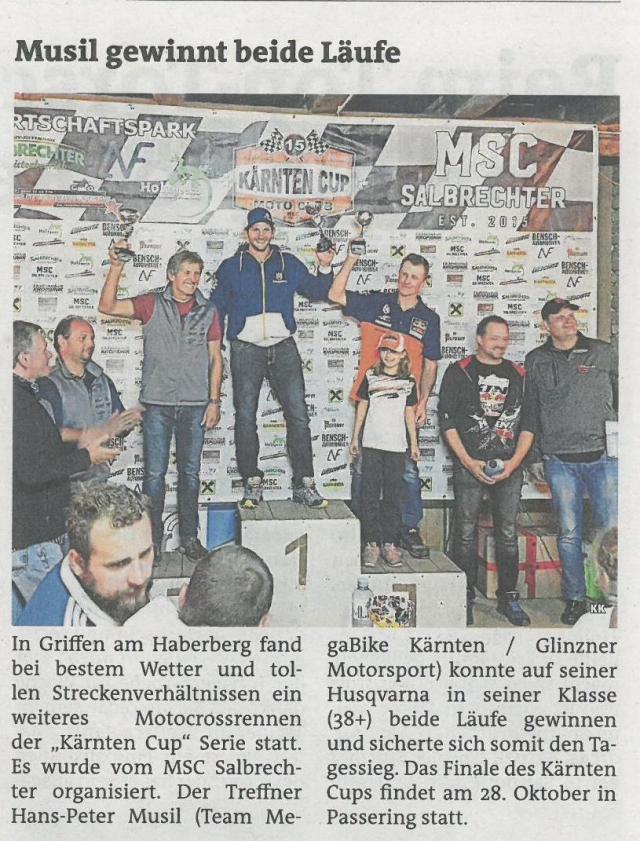 MOTOCROSS Kärnten CUP